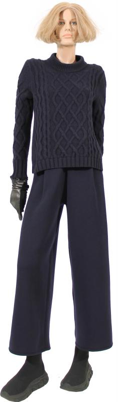autumn--winter-2020-outfits-num15-of-52-material-cashmere-stretch-merino-whool-description-2079-crewneck-pullover-4-ply-2073knitted-pants-high-waist
